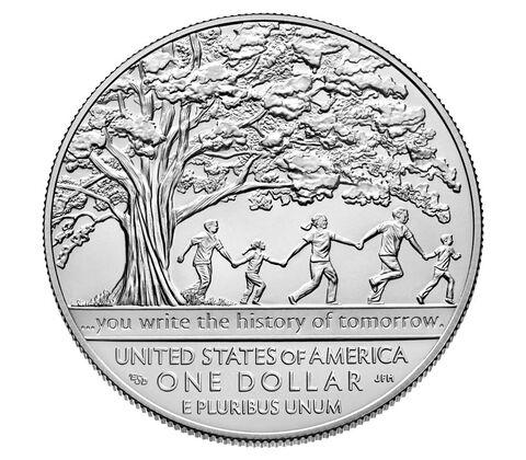 Boys Town Centennial 2017 Uncirculated Silver Dollar,  image 2