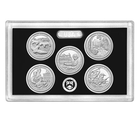America the Beautiful Quarters Silver Proof Set Enrollment,  image 1
