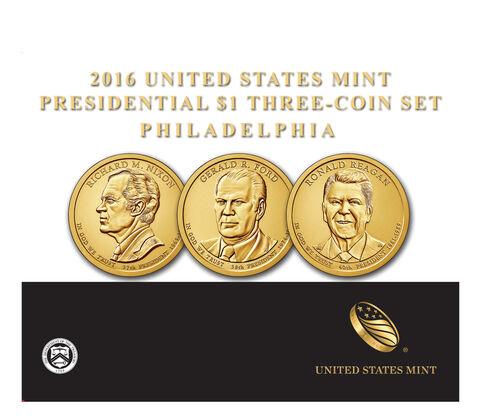 Presidential $1 Three-Coin Set Enrollment