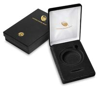 "Black Presentation Case for 3"" Medal"