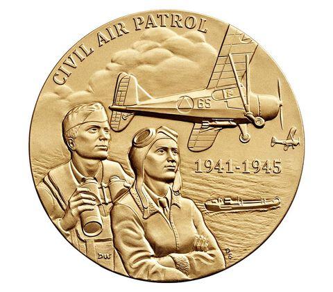 Civil Air Patrol Bronze Medal 1.5 Inch