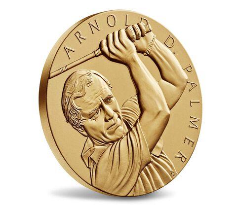Arnold Palmer Bronze Medal 3 Inch,  image 3
