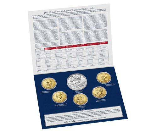 Annual Uncirculated Dollar Coin Set Enrollment,  image 2