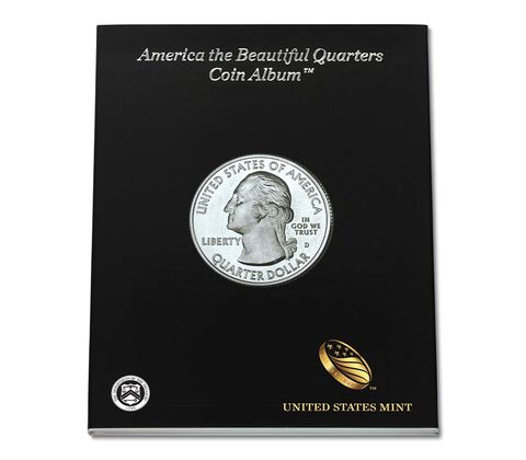 America the Beautiful Quarters Album