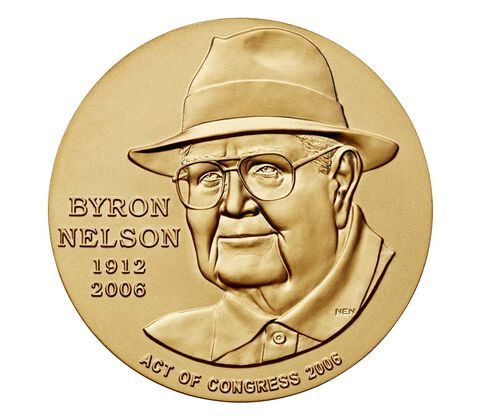 Byron Nelson Bronze Medal 3 Inch