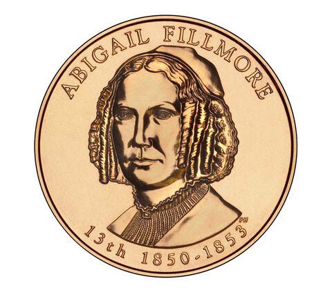 Abigail Fillmore 2010 Bronze Medal 1 5/16 Inch