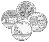 Boys Town Centennial & Lions Clubs Proof Coins Bundle