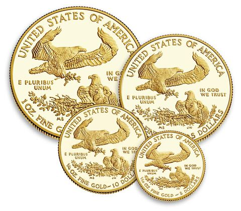 American Eagle 2017 Gold Proof Four-Coin Set,  image 3