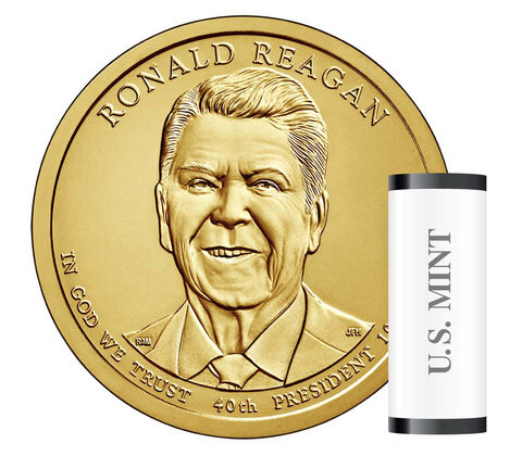 Ronald Reagan Presidential 2016 Rolls, Bags and Boxes