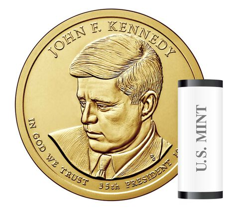 John F. Kennedy Presidential 2015 Rolls, Bags and Boxes