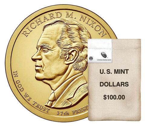 Presidential $1 Coin 100-Coin Bag Enrollment