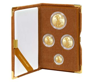 American Eagle 2016 Gold Proof Four-Coin Set