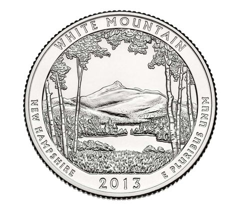 White Mountain National Forest 2013 Quarter, 3-Coin Set,  image 4