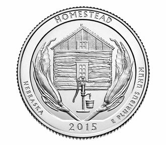 Homestead National Monument of America 2015 Rolls and Bags