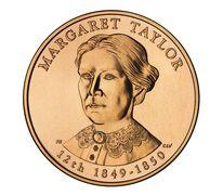 Margaret Taylor 2009 Bronze Medal 1 5/16 Inch