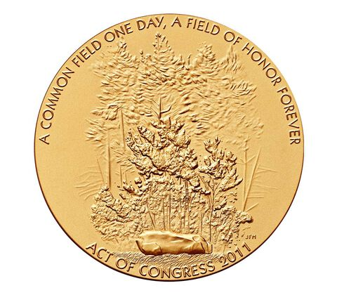 Fallen Heroes of PA Bronze Medal 3 Inch
