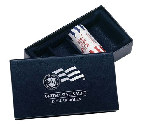Dollar Coin Rolls Collector's Box