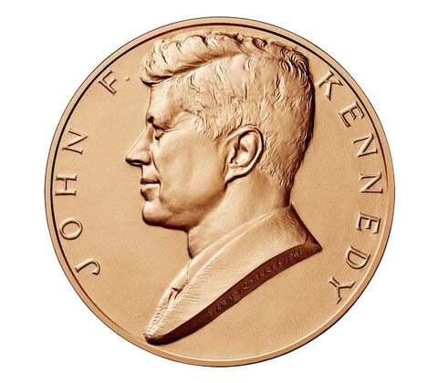 John F. Kennedy Bronze Medal 1 5/16 Inch