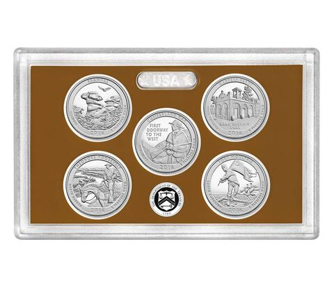 America the Beautiful Quarters 2016 Proof Set