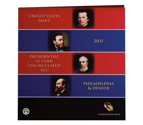 Presidential $1 Coin 2011 Uncirculated Set,  image 2