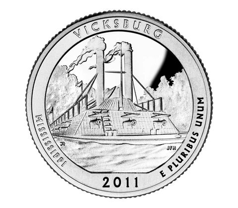 Vicksburg National Military Park 2011 Quarter, 3-Coin Set,  image 2