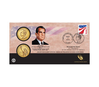 Richard M. Nixon 2016 One Dollar Coin Cover