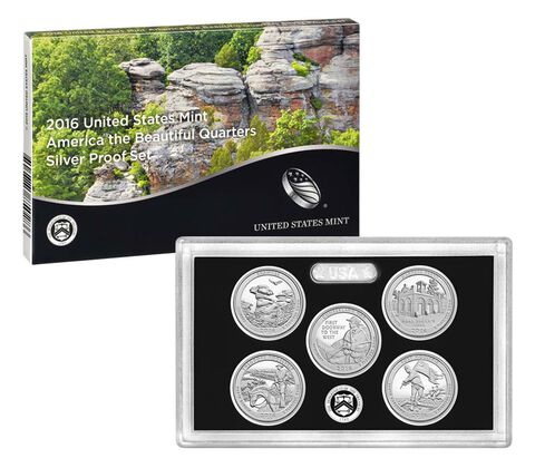 America the Beautiful Quarters Silver Proof Set Enrollment,  image 2