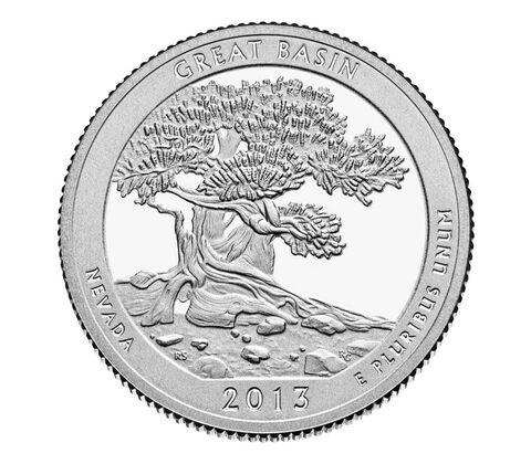 Great Basin National Park 2013 Quarter, 3-Coin Set,  image 3