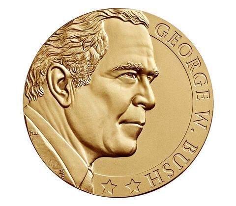 George W. Bush (Second Term) Bronze Medal 3 Inch