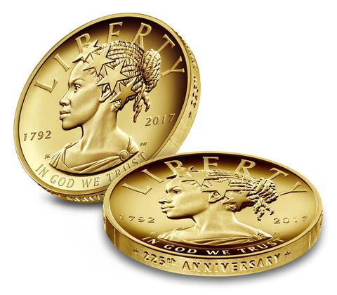 American Liberty 225th Anniversary Gold Coin,  image 3