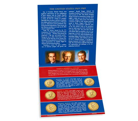 Presidential $1 Coin 2016 Uncirculated Set