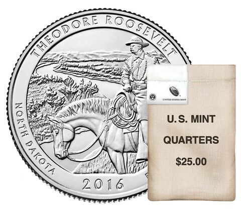 America the Beautiful Quarters 100-Coin Bag Enrollment