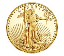 American Eagle 2016 One-Half Ounce Gold Proof Coin