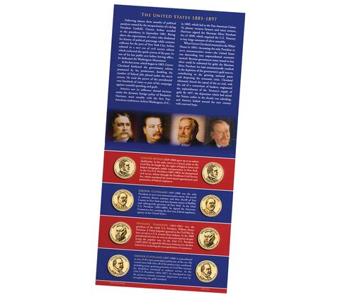 Presidential 2012 One Dollar Coin Uncirculated Set