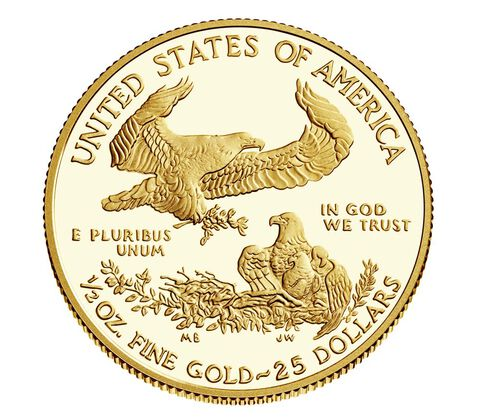 American Eagle 2017 One-Half Ounce Gold Proof Coin,  image 2