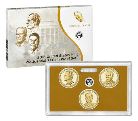 Presidential $1 Coin Proof Set Enrollment,  image 2