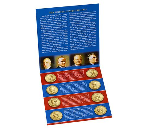 Presidential 2014 One Dollar Coin Uncirculated Set