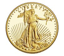 American Eagle 2015 One-Quarter Ounce Gold Proof Coin