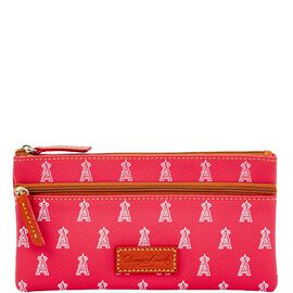 Angels Double Zip Flat Pouch