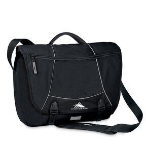 High Sierra Tank Pack Messenger Bag in the color Black.