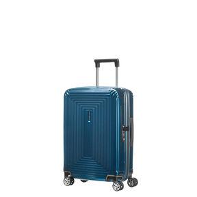 Samsonite Neopulse Spinner Carry-On in the color Metallic Blue.