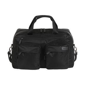 """Lipault Original Plume 19"""" Weekend Bag in the color Black."""