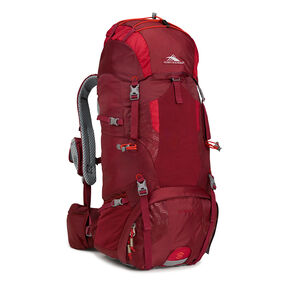 High Sierra Tech 2 Series Hawk 45 Frame Pack in the color Brick/Carmine/Red Line.