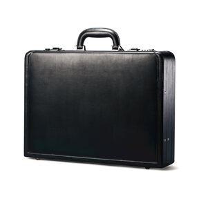 Samsonite Leather Attache in the color Black.