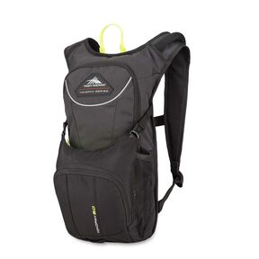 High Sierra Tokopah 6L Hydration Pack in the color Raven/Black/Zest.