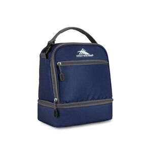 High Sierra Lunch Packs Stacked Compartment in the color True Navy.