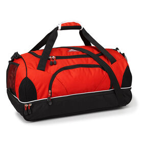 High Sierra Cross Sport Duffels Wallop Duffel in the color Crimson/Black/White.