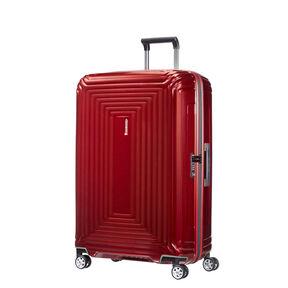 "Samsonite Neopulse Spinner Large (28"") in the color Metallic Red."