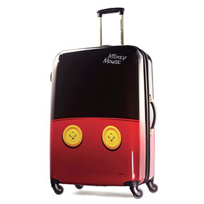 """American Tourister Disney Mickey Mouse 28"""" Hardside Spinner in the color Mickey Mouse Pants."""
