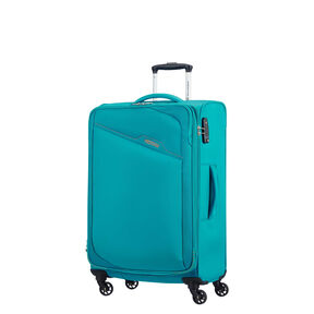 American Tourister Bayview Spinner Medium in the color Hyper Blue.